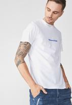 Cotton On - Tbar tee - white