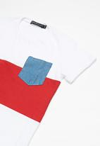 Superbalist - Kids boys colour blocked tee - multi
