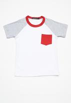 Superbalist - Kids boys 2 pack raglan tee - multi