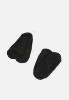 Superbalist - Secret socks 2 pack - black