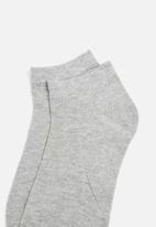 Superbalist - Low cut 5 pack socks - grey