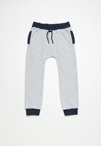 Superbalist - Drawcord jogger pants - grey