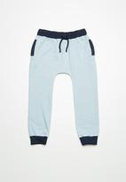 Superbalist - Drawcord jogger pants - blue