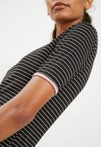 Superbalist - Ringer tee dress  strip