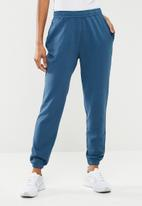 Missguided - Super slim clean jogger - blue
