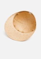 Superbalist - Straw peacap - natural