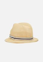 Superbalist - Nettex trilby hat - natural
