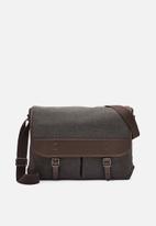 Fossil - Buckner messenger bag - black