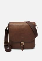 Fossil - Buckner leather NS city - brown
