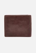 Fossil - Ingram RFID leather wallet - brown