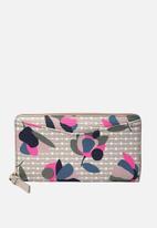 Fossil - Caroline zip floral wallet - multi
