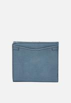 Fossil - Caroline mini faded purse - blue