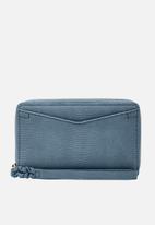 Fossil - Caroline smartphone wallet - blue