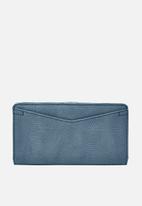 Fossil - Caroline slim wallet - blue