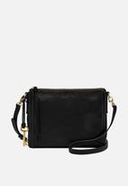 Fossil - Emma naked vege crossbody bag - black