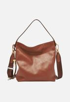 Fossil - Maya leather small bag - brown