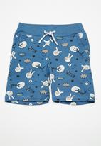name it - Boomy draw cord long shorts - blue