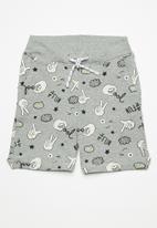 name it - Boomy draw cord long shorts - grey