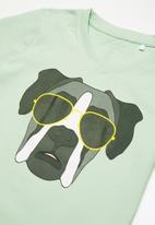 name it - Julian short sleeve top - green