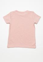 name it - Krille short sleeve top - peach