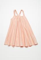name it - Mille dress - peach