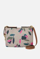 Fossil - Devon crossbody bag floral  - multi