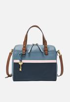 Fossil - Rachel leather satchel - multi