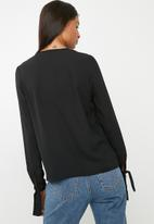Superbalist - Basic shell blouse - black