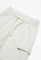 Superbalist - Draw cord utility shorts - grey