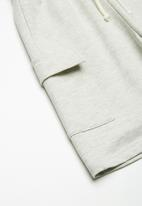 Superbalist - Draw cord utility shorts - stone grey