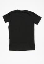 Superbalist - Kids boys printed tee - black