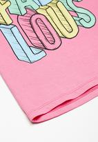 Superbalist - Embroided swing tee - pink