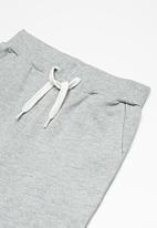 name it - Vain long sweat shorts - grey
