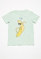 name it - Banana short sleeve top - green