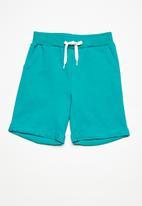 name it - Vain long sweat shorts - blue
