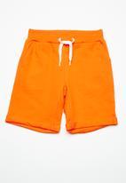 name it - Vain long sweat shorts - orange