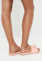 Missguided - Neoprene knot slider - pink