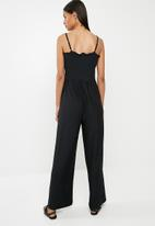 Pieces - Gurli jumpsuit - black