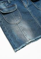 name it - Adea denim short skirt - blue