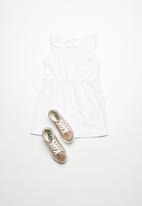 name it - Kaja tunic dress - white