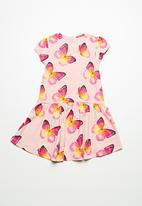 name it - Kimmie short sleeve dress - multi