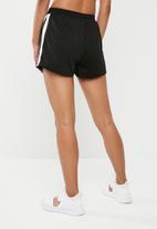 Missguided - Side stripe runner shorts - black