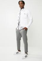 Only & Sons - Solid check chino - black & white