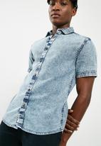 Only & Sons - Tyson denim shirt - blue