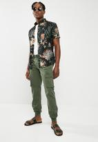 Only & Sons - Thomas cuff cargo pants - green