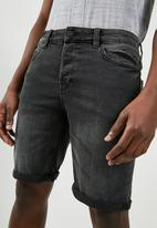 Only & Sons - Camp denim shorts - grey