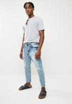 Only & Sons - Regular cropped jeans - blue