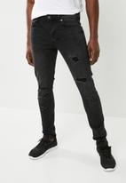 Only & Sons - Skinny fit jeans - black