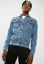 Only & Sons - Camp denim jacket - blue
