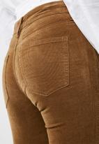 Cotton On - Mid rise grazer skinny jean - tan